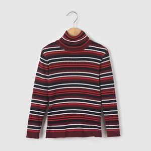 Camisola quentinha, gola alta, em lã COLLECTOR, 3-12 anos abcd'R