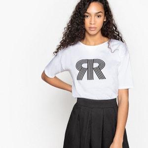 Tee-shirt imprimé logo La Redoute La Redoute Collections