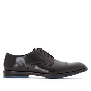 Sapatos richelieu em pele Prangley Cap CLARKS