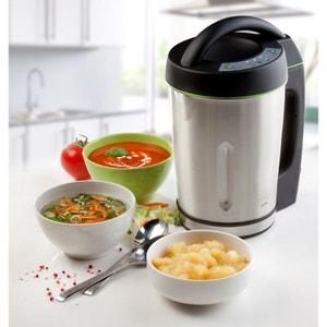 DOMO - Le mixeur à soupe 1,6L. tout en 1 - Pour veloutés, repas de bébé, confitures, compote,... DOMO