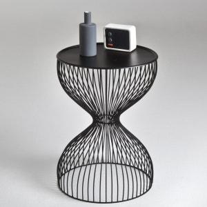 Janik Wire Cage Bedside Table La Redoute Interieurs