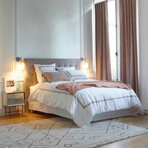 Cabecero de cama Selve, al. 100 cm, efecto capitonado
