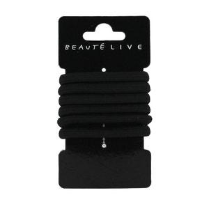 Elastiques noirs 5mm, lot de 6, Beautélive BEAUTELIVE