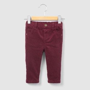 Pantalón de terciopelo 1 mes-3 años R essentiel