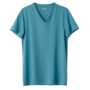 Tee shirt col v en coton R Edition