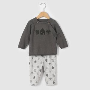 Conjunto casaco e leggings 0 mês-2 anos R mini