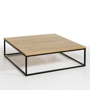La mesa baja cuadrada de roble macizo Aranza