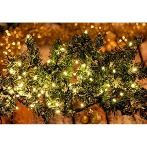 Guirlande de sapin musicale - Petit papa Noël - Décoration de Noël - LED - Blanc chaud - Intérieur ! NONAME