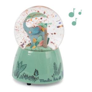 Sous Mon Baobab Musical Snow Globe
