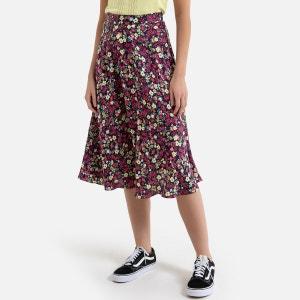 Falda estampada semilarga CAROLE