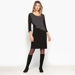 Rechte jurk in relëf tricot ANNE WEYBURN