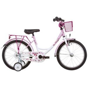 Girly - Vélo enfant 18 pouces - rose/blanc VERMONT