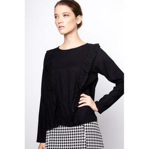 Effen blouse met ronde hals en lange mouwen COMPANIA FANTASTICA