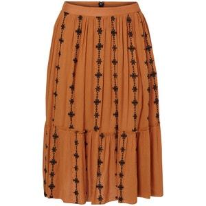 Samantha Softly Draping Print Skirt VERO MODA