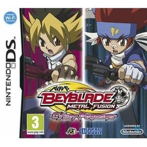 Beyblade Metal Fusion : Cyber Pegasus + Toupie Nintendo DS KONAMI