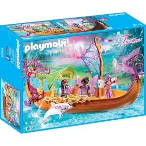 PLAYMOBIL 9133 Fairies - Bâteau des fées enchanté PLAYMOBIL