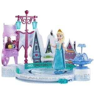 La Reine des neiges diorama Patinoire Elsa LA REINE DES NEIGES