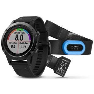 fenix 5 Saphir - Cardiofréquencemètre - Performer Bundle / Premium HRM-Tri Brustgurt + QuickFit gris/noir GARMIN