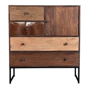 commode porte coulissante la redoute. Black Bedroom Furniture Sets. Home Design Ideas