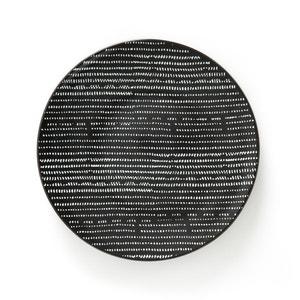 Platos planos de cerámica TADSIT (lote de 4) La Redoute Interieurs