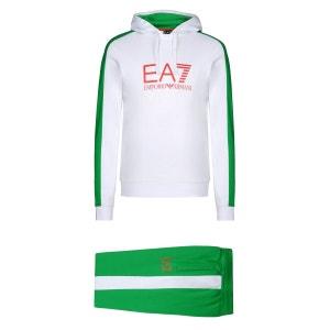 Ensemble de survêtement (Blanc) Coton EMPORIO ARMANI EA7