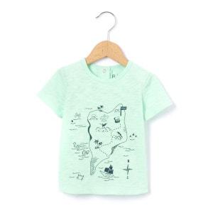 T-shirt impression carte 1 mois-3 ans R mini
