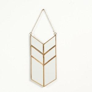 Miroir forme amulette en métal, Uyova La Redoute Interieurs