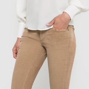 Pantalón CASSIS VELOURS, corte slim CIMARRON