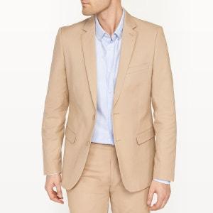 Veste de costume coupe slim en coton stretch R essentiel