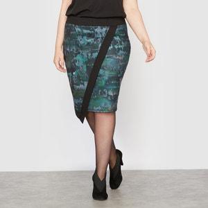 Printed Asymmetric Skirt CASTALUNA