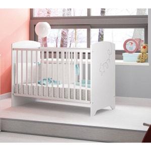 Lit bébé blanc LT5000 60x120 TERRE DE NUIT