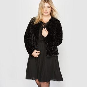 Cropped Faux Fur Jacket CASTALUNA