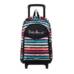 sac à dos à roulettes Rabea 55 cm Paint LITTLE MARCEL
