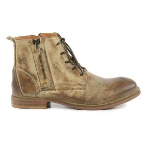 Boots à lacets Yellow Cab - brun SACHA