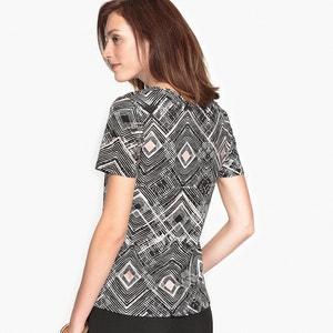 Camiseta estampada de algodón y modal ANNE WEYBURN