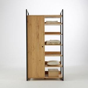 Module penderie/6 étagères pin massif teinté, Hiba La Redoute Interieurs