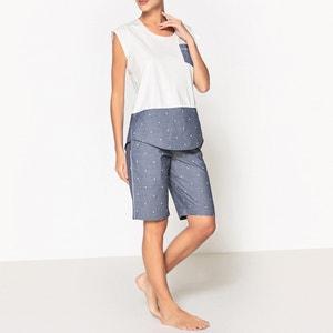 Pijama estampado La Redoute Collections