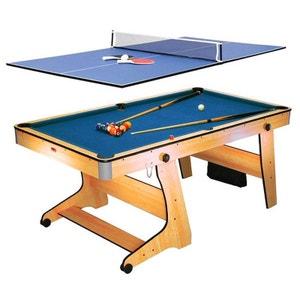 FP-6TT Table de jeux billard tennis de table RILEY