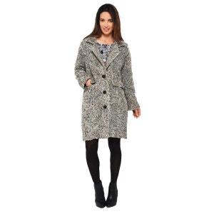 Manteau en laine mélangée MADE IN SENS
