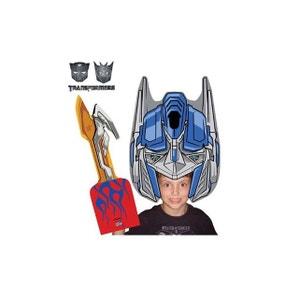Perruque Transformers Optimus Prime, Cadeau Fun et Insolite KAS DESIGN
