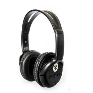 Bat Music - FD-BT-668S - Casque audio Bluetooth Stéréo Noir NONAME