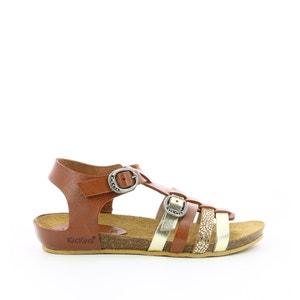 Kids Bobban Leather Sandals