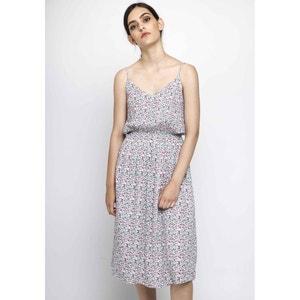 Sukienka prosty krój długość 3/4, cienkie ramiączka COMPANIA FANTASTICA