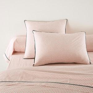 Fronha de almogada ou travesseiro, percal, Duo La Redoute Interieurs