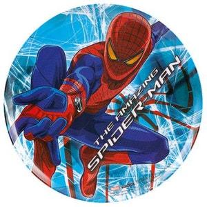 Assiette plastique Spiderman B BAUMALU