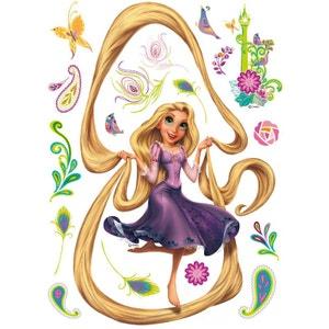 Sticker géant Princesse Raiponce Cheveux Disney WALLTASTIC