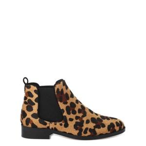 Boots cuir COSMOPARIS
