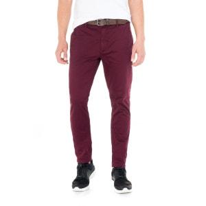 Pantalon chino slim avec ceinture offerte SALSA
