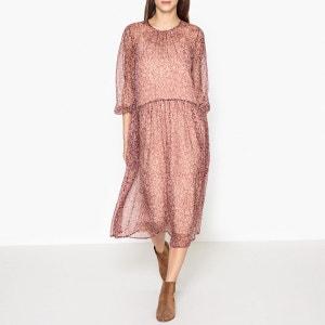 Robe imprimée en voile de soie HOLMY ATHE VANESSA BRUNO