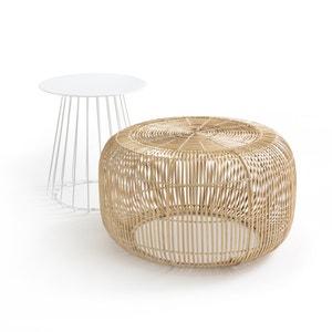 Ronde salontafel in bamboe BANGOR